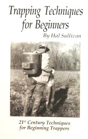 "Hal Sullivan's ""Trapping Techniques for Beginners"" Book #00081414"